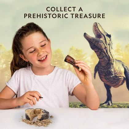 NATIONAL GEOGRAPHIC | Dino Fossil Dig Kit (Genuine DINO POOP Specimen Inside!) | STEM Scientific Educational Toys For Boys Girls Kids
