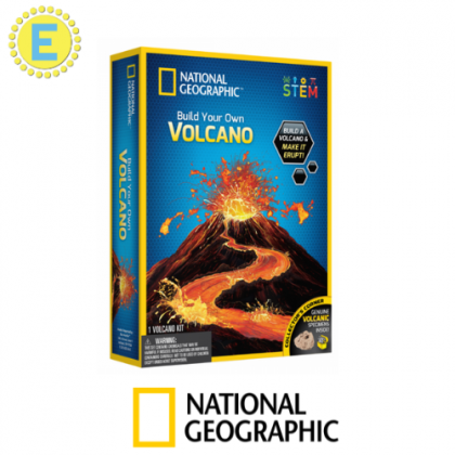 NATIONAL GEOGRAPHIC   Build Your Own Volcano (Genuine VOLCANIC Specimens Inside!)   STEM Science Educational Toys For Boys Girls Kids
