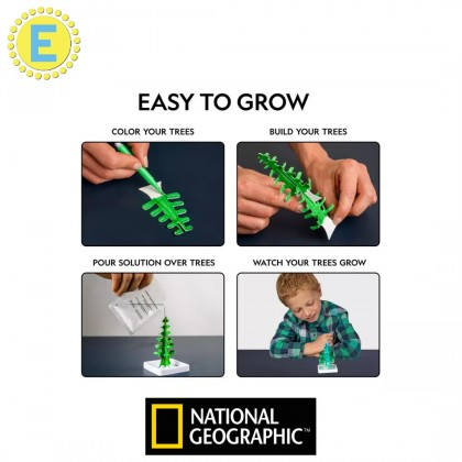 NATIONAL GEOGRAPHIC | Crystal Garden (Genuine GEODE Specimen Inside!) | STEM Science Educational Toys For Boys Girls