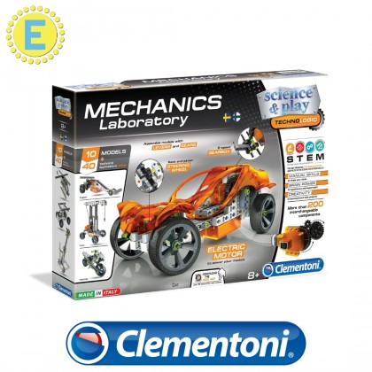 (100% Original) Clementoni Science & Play   Engineering of Machines   STEM Educational Toys For Boys Girls Kids