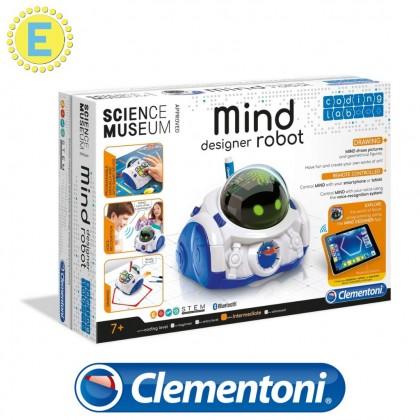 (100% Original) Clementoni Science & Play | Coding Lab MIND Designer Robot | STEM Educational Toys For Boys Girls Kids