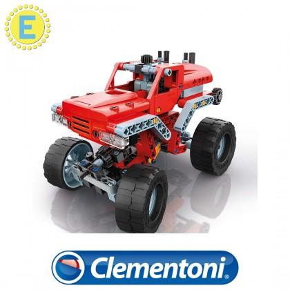 (100% Original) Clementoni Science & Play | Mech Lab Monster Trucks | STEM Educational Toys For Boys Girls Kids