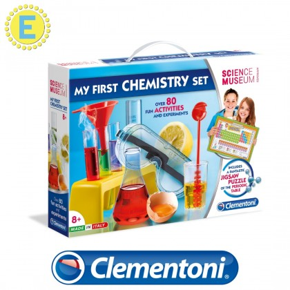 (100% Original) Clementoni Science & Play | My First Chemistry Set | STEM Educational Toys For Boys Girls Kids