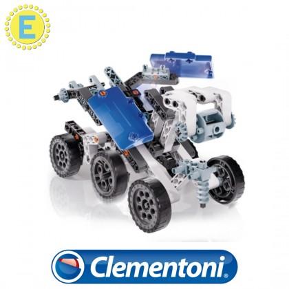 (100% Original) Clementoni Science & Play | Mech Lab Explorer + Space Station | STEM Educational Toys For Boys Girls Kids