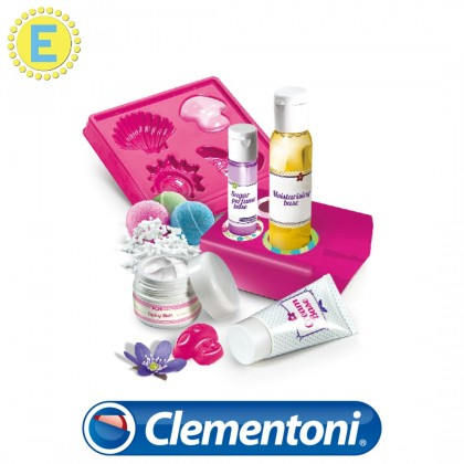 (100% Original) Clementoni Science & Play | Perfumes and Cosmetics | STEM Science Educational Toys For Girls Kids