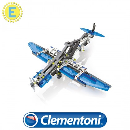 (100% Original) Clementoni Science & Play   Mech Lab Aeroplanes & Helicopters   STEM Educational Toys For Boys Girls Kids