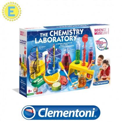 (100% Original) Clementoni Science & Play | The Chemistry Laboratory | STEM Educational Toys For Boys Girls Kid