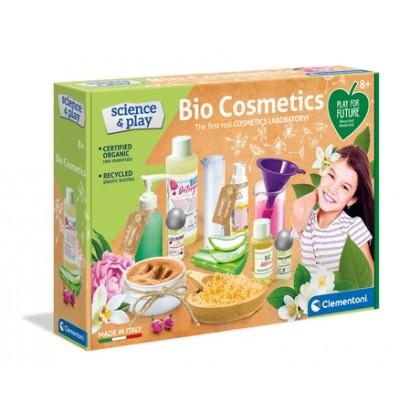 (100% Original) Clementoni   Bio Cosmetics   STEM Science Educational Toys For Girls Kids