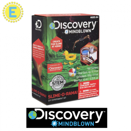 DISCOVERY MINDBLOWN  Slime-O-Rama DIY Experiment Set  STEM Science Educational Toys For Boys Girls Kids