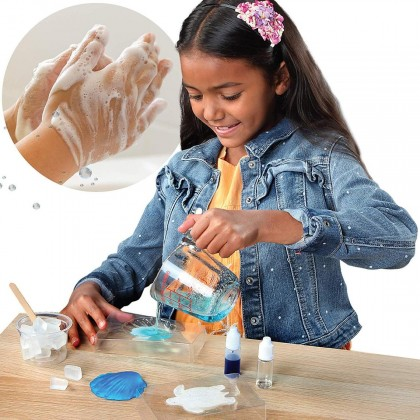 DISCOVERY MINDBLOWN  DIY Soap Making Kit Mini Experiment Set  STEM Educational Toys For Boys Girls Kids