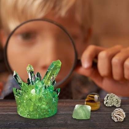 NATIONAL GEOGRAPHIC Mega Science Series | Earth Science Kit (More Than 10 Specimens Inside!) | STEM Scientific Educational Toys For Boys Girls Kids