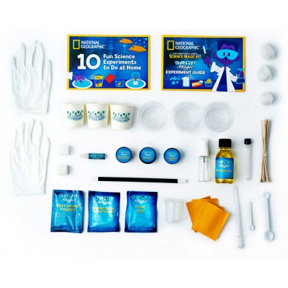 NATIONAL GEOGRAPHIC | Science Magic Activity Kit (25 Easy Magic Tricks & Experiments) | STEM Scientific Educational Toys For Boys Girls Kids