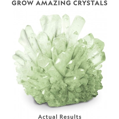 NATIONAL GEOGRAPHIC | Glow-in-the-Dark Crystal Growing Lab (Genuine FLUORITE Specimens Inside!) | STEM Scientific Educational Toys For Boys Girls Kids