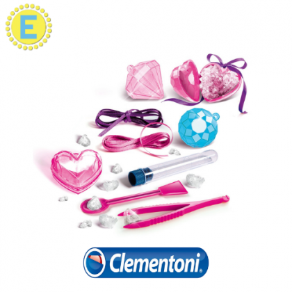 (100 % Original) Clementoni Crystal Jewellery STEM Science Educational Toys For Girls